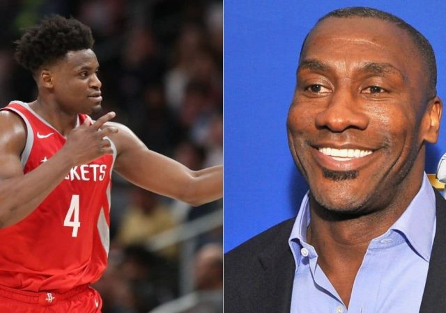 Shannon Sharpe and Danuel House