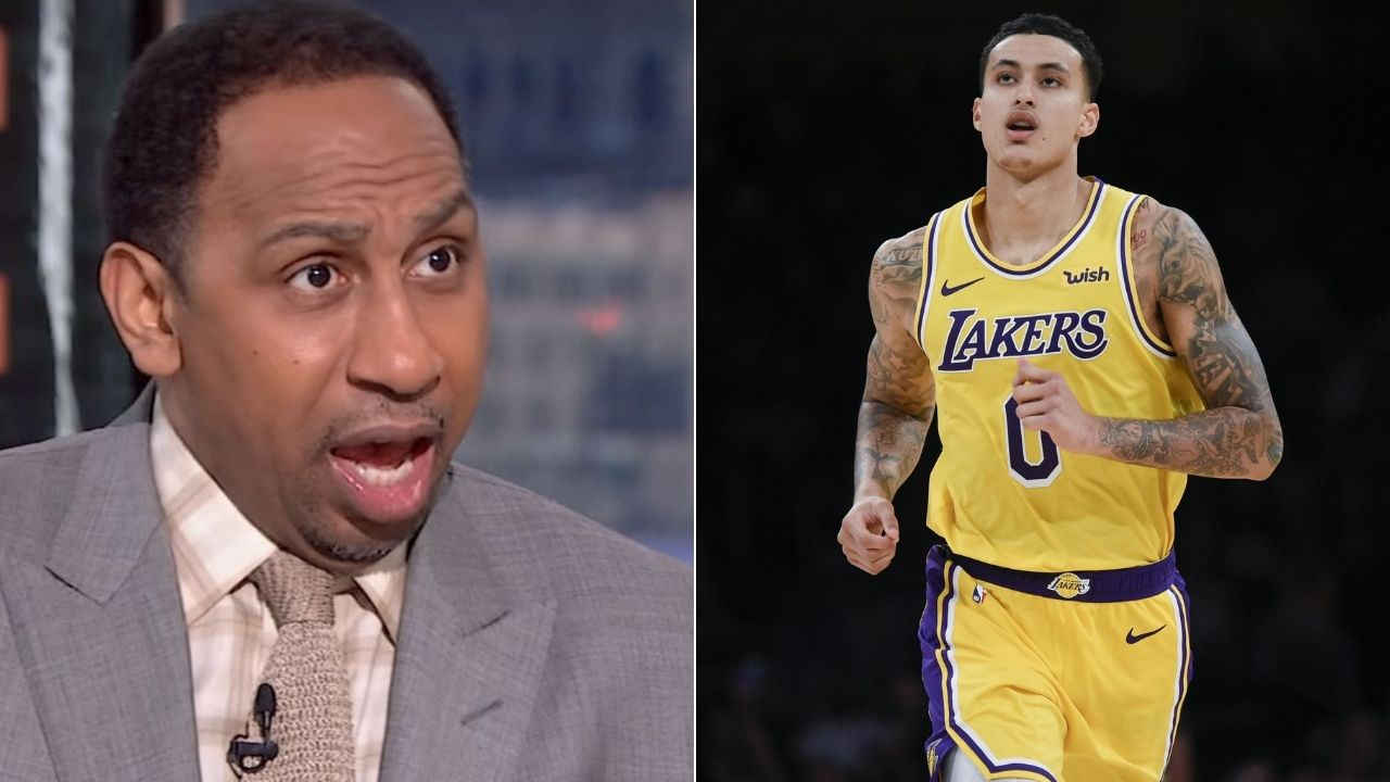 Kyle Kuzma snaps at Stephen A Smith