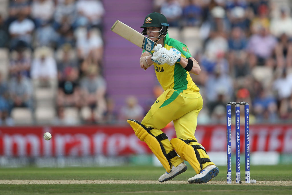 Why is Steve Smith not playing today's first ODI between England and Australia at Old Trafford?
