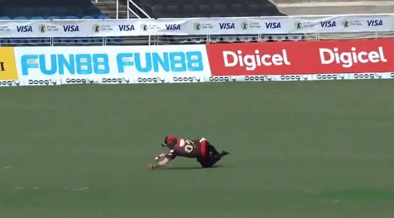 Pravin Tambe catch in CPL 2020: Watch Knight Riders' 48-year old players grabs astounding catch vs Patriots