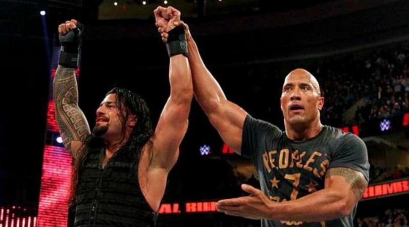 The Rock on facing Roman Reigns at Wrestlemania 37