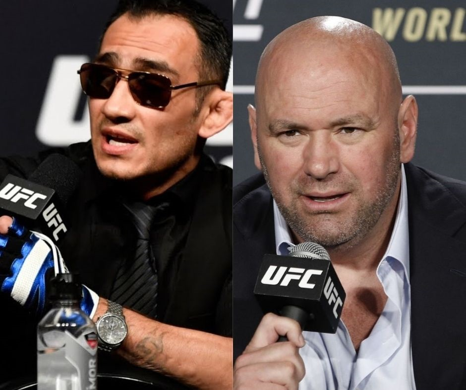 """""""Pay the man""""- Tony Ferguson Makes an Appeal in Front of Dana White To Pay """"The Diamond"""" The Price He Wants"""