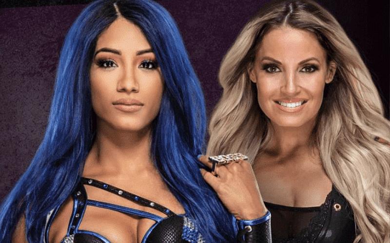 Trish Stratus discusses potential dream match against Sasha Banks