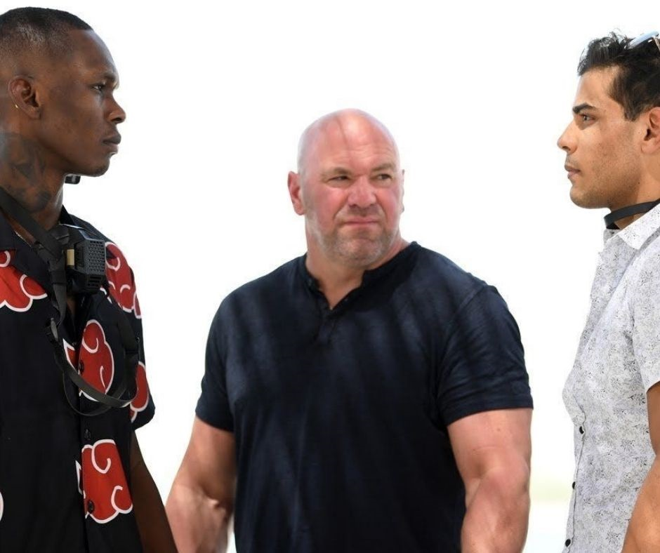 Watch: Israel Adesanya and Paulo Costa Engage In a Funny Little Back-and-Forth at The UFC 253 Pre-Match Conference
