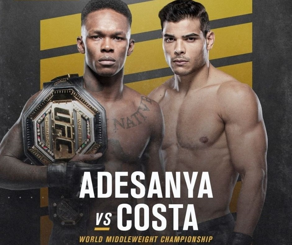 UFC 253 Fight Card: Full Preliminary and Main Fight Card