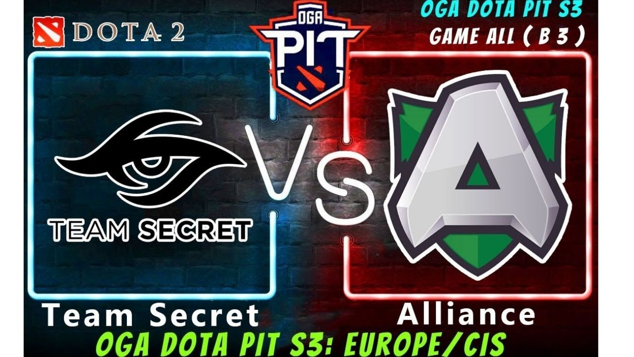AMD Sapphire OGA Dota Pit : Team Secret defeats Alliance & move to Grand Finals of Season 3