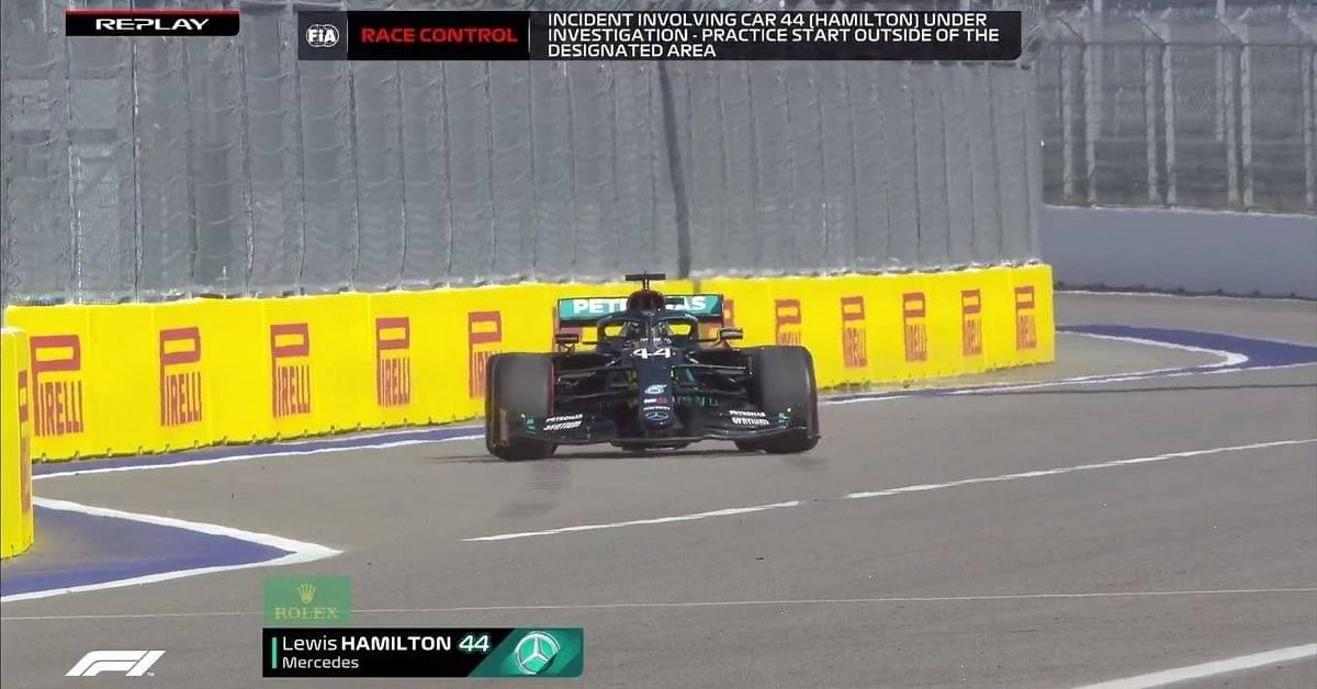 F1 Sochi Grand Prix: Lewis Hamilton receives 10-second penalty in Russian Grand Prix