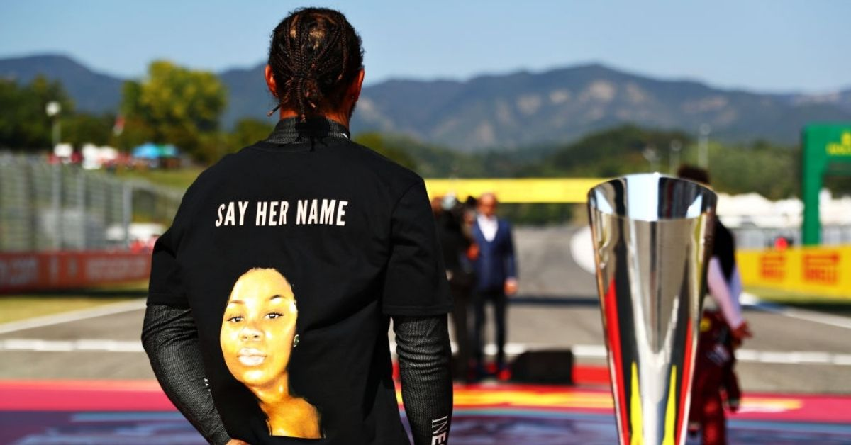 FIA to investigate Lewis Hamilton for wearing Breonna Taylor T-shirt at Mugello