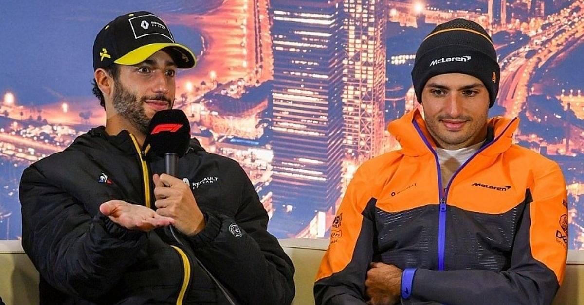 """We have always wanted Dan Ricciardo""- Ross Brown on why he didn't stop Carlos Sainz"
