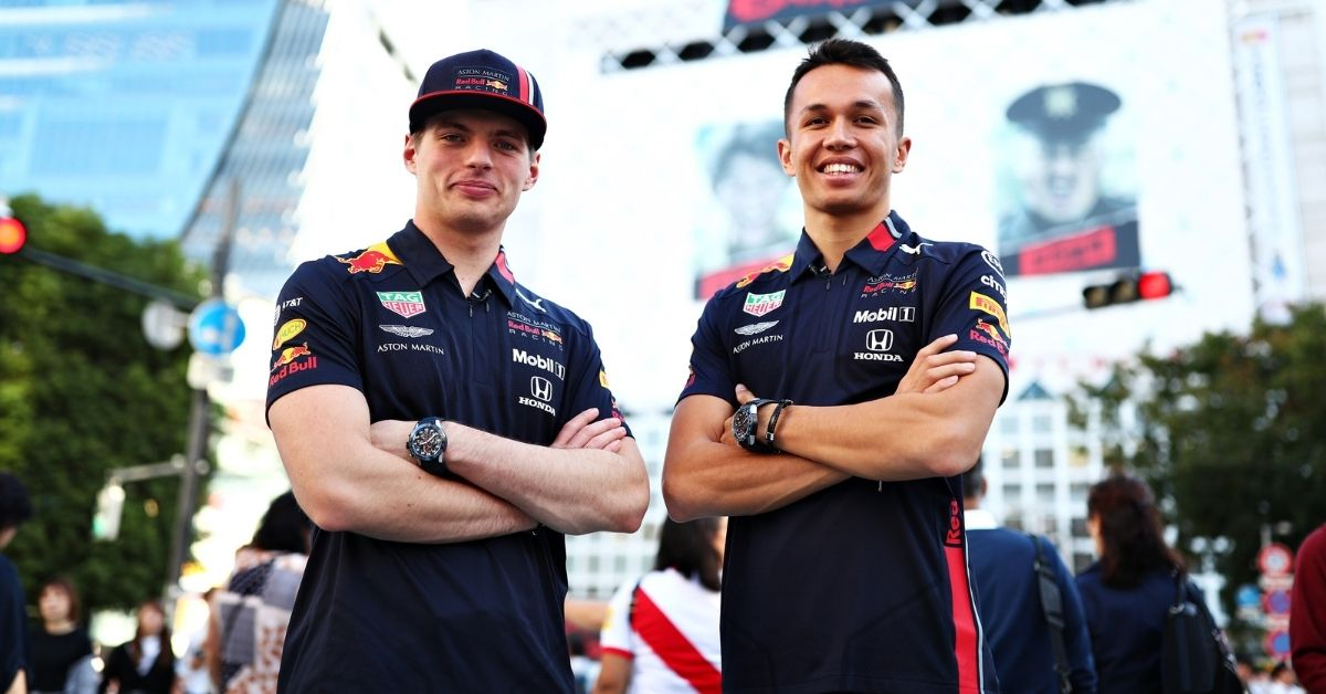 """In the end, it doesn't matter""- Max Verstappen on whether Alex Albon future with Red Bul"