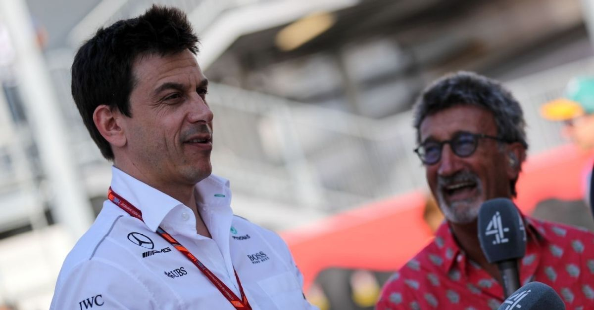 """It's time for him to quit""- Eddie Jordan on Toto Wolff's ongoing stint with Mercedes"