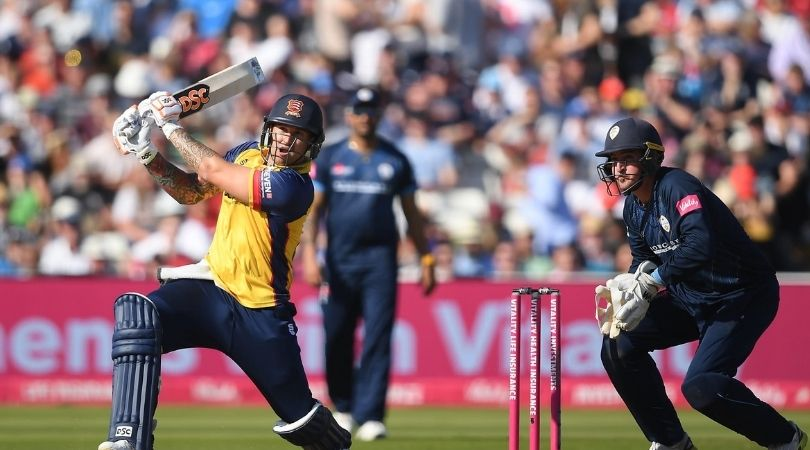 HAM vs ESS Dream11 Prediction: Hampshire vs Essex – 16 September 2020. Hampshire will take on Essex Eagles in the League Match of Vitality Blast T20 which will be played at the Ageas Bowl in Southampton. The T20 cricket is finally back in England and nothing better than some T20 Blast cricket.
