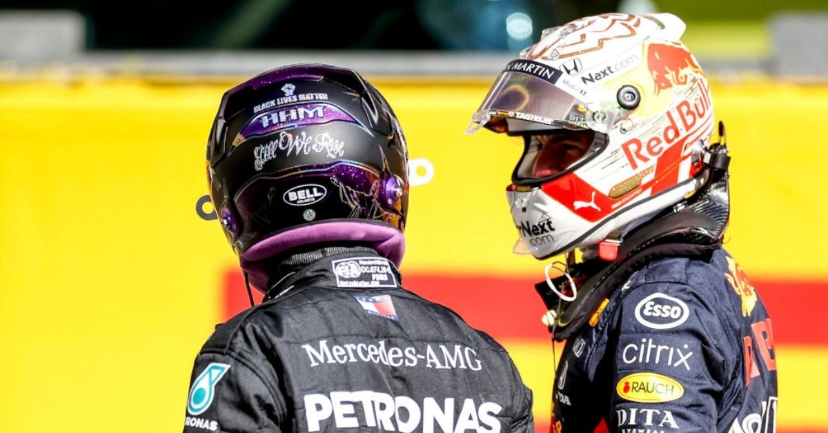"""""""It's a bit harsh""""- Max Verstappen opines on penalty received to Lewis Hamilton in Russian GP"""