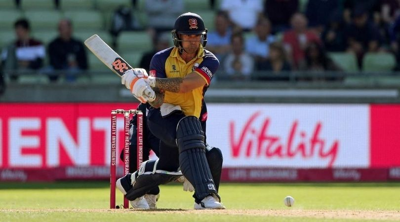 ESS vs HAM Dream11 Prediction: Essex vs Hampshire – 1 September 2020. Essex Eagles will take on Hampshire in the League Match of Vitality Blast T20 which will be played at the County Ground in Chelmsford. The T20 cricket is finally back in England and nothing better than some T20 Blast cricket.