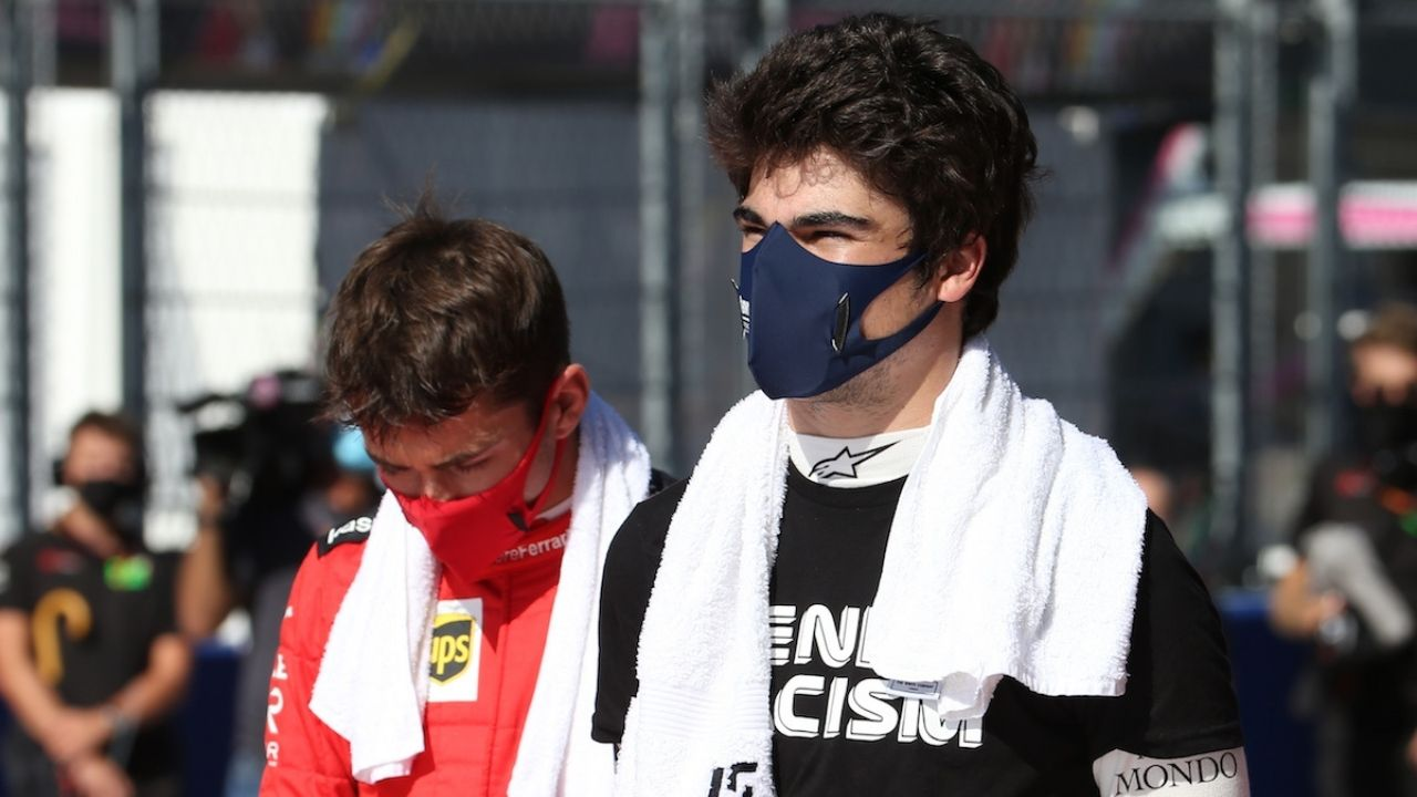 """""""I understeered quite a bit""""- Charles Leclerc provides explanation for his crash with Lance Stroll"""