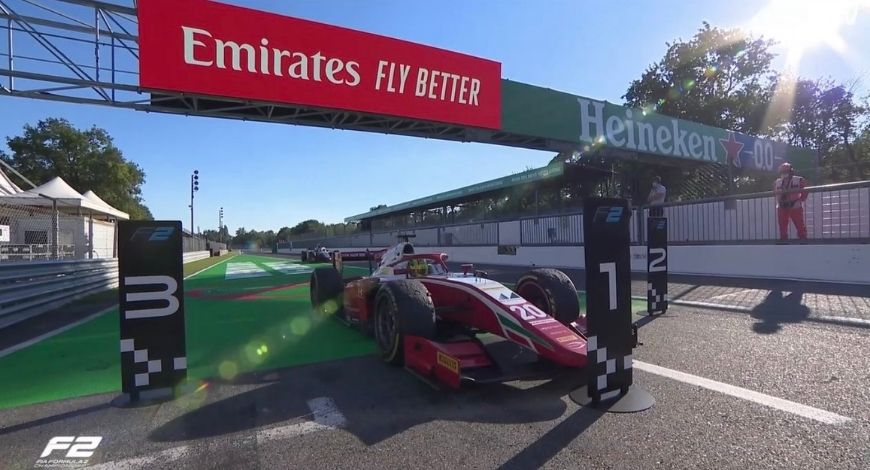 Mick Schumacher F2 Win: German racer bags maiden F2 race win at Monza after spectacular display