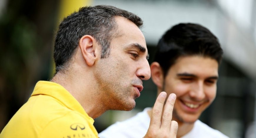 Renault team principal stops Esteban Icon to stop his whining after Italian Grand Prix