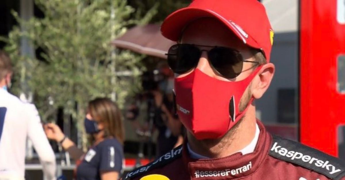 """""""I'm not too comfortable with the car""""- Sebastian Vettel on facing elimination in Q2 of Tuscan GP"""
