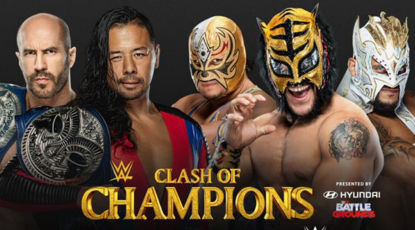 WWE Clash of Champions SmackDown Tag Team Championship Match announced