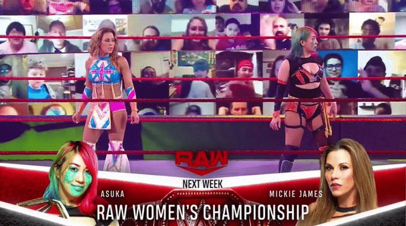 WWE RAW Women's Championship match set for next week