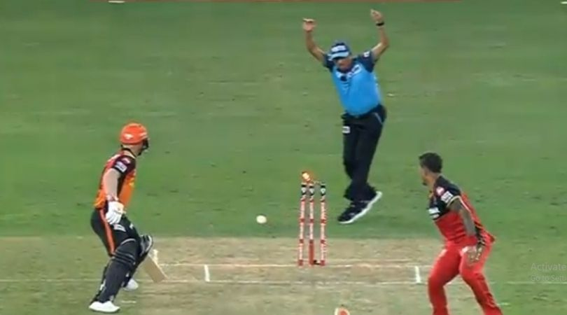 David Warner run-out vs RCB: Umesh Yadav dismisses SRH captain in bizarre manner in IPL 2020