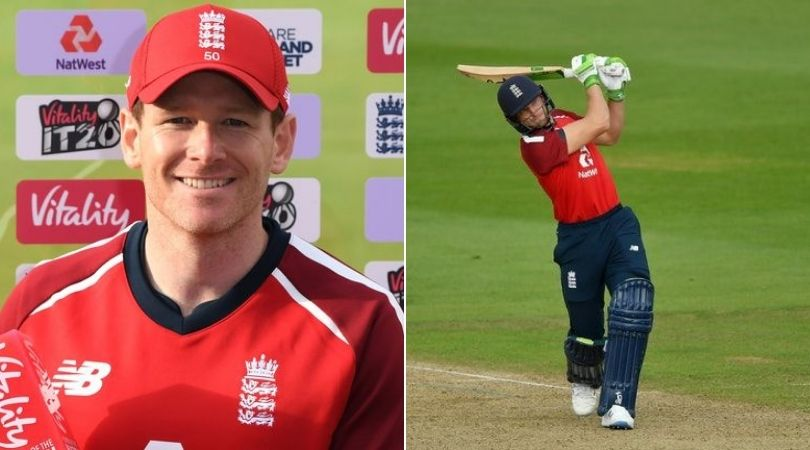 Who has replaced Eoin Morgan and Jos Buttler in today's third T20I vs Australia?
