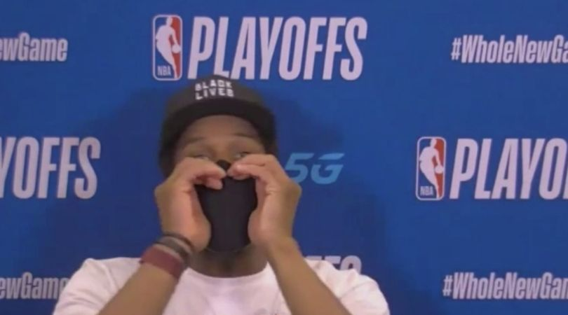 """""""F**k You"""", Kyle Lowry drops F-bomb on cameraman after learning that his camera isn't on yet"""