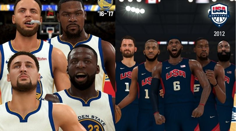 NBA 2K21 Classic Teams: 4 new classic teams added in NBA 2k21; Details about Golden State Warriors, Toronto Raptors, US National Team 2012 & 2016