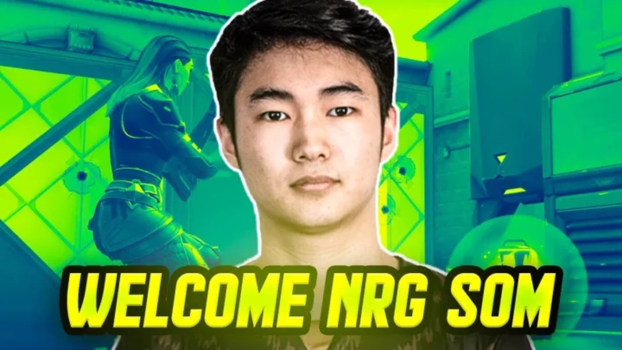 NRG sign s0m from Gen.G, becomes second player to join the roster