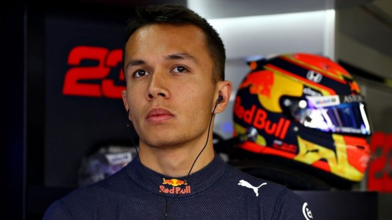 """""""It's not my problem""""- Alex Albon amidst his troubling days at Red Bull"""