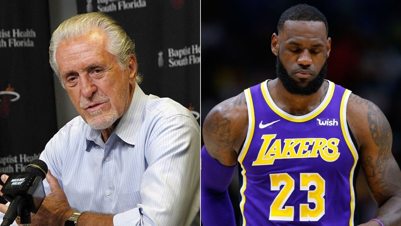 "'Heat's loss has an asterisk next to it, not the Lakers"": Pat Riley"