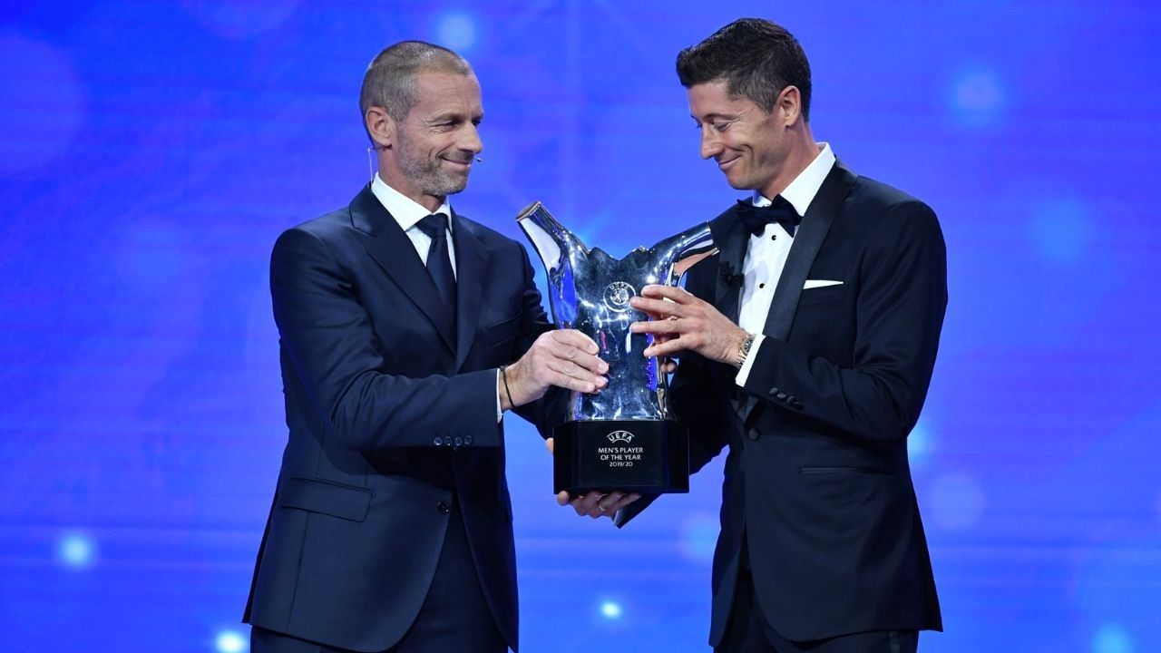 UEFA Awards 2020/2021: Who won the UEFA Best Goalkeeper, Defender, Midfielder, Coach Forward and Player award
