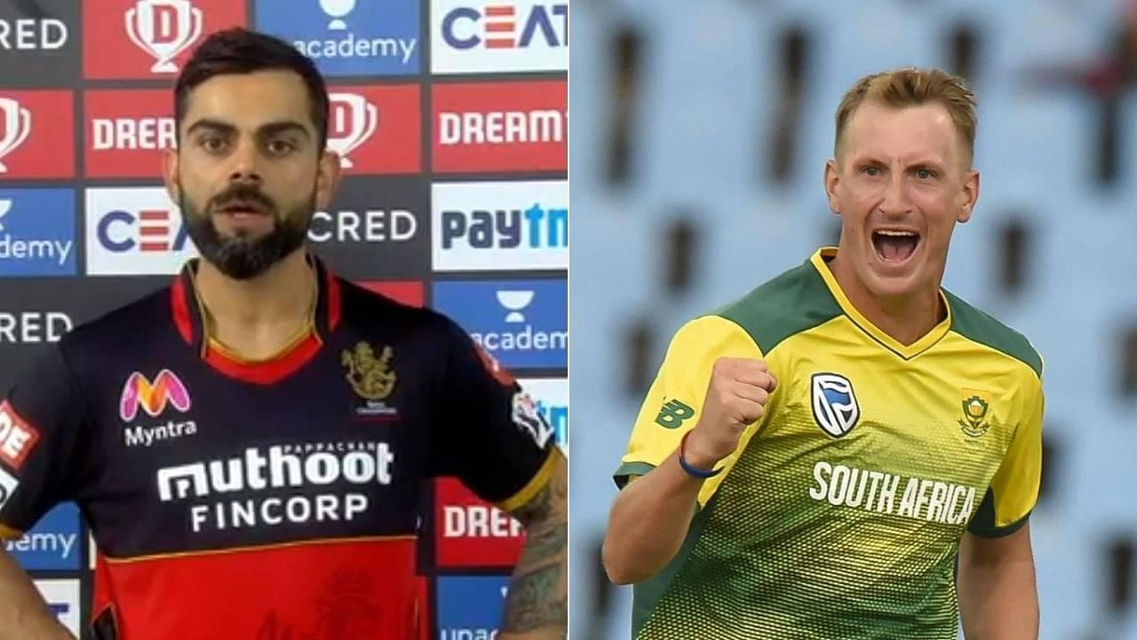 Why is Chris Morris not playing for RCB: Virat Kohli hints at Morris playing in CSK vs RCB IPL 2020 match
