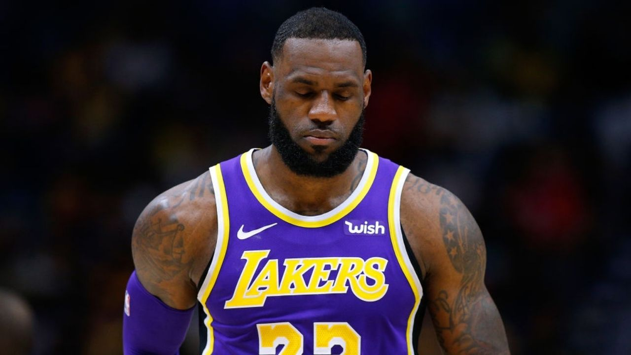 """'Lakers' title has no asterisk but a gold star"""": Rob Pelinka slams Pat Riley for questioning LeBron James"""
