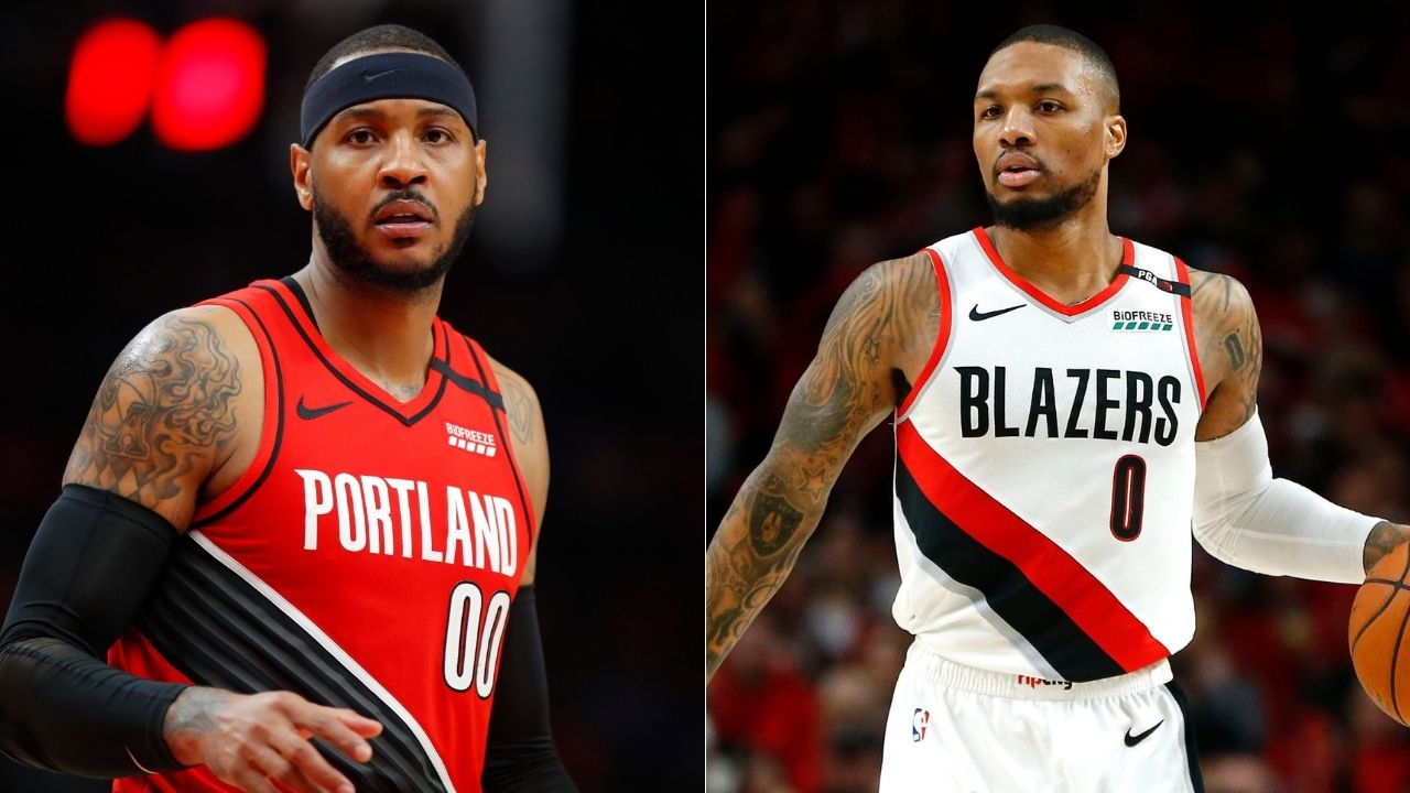 Damian Lillard blasts Nuggets for leaving Carmelo Anthony out of greatest Nugget ever photo