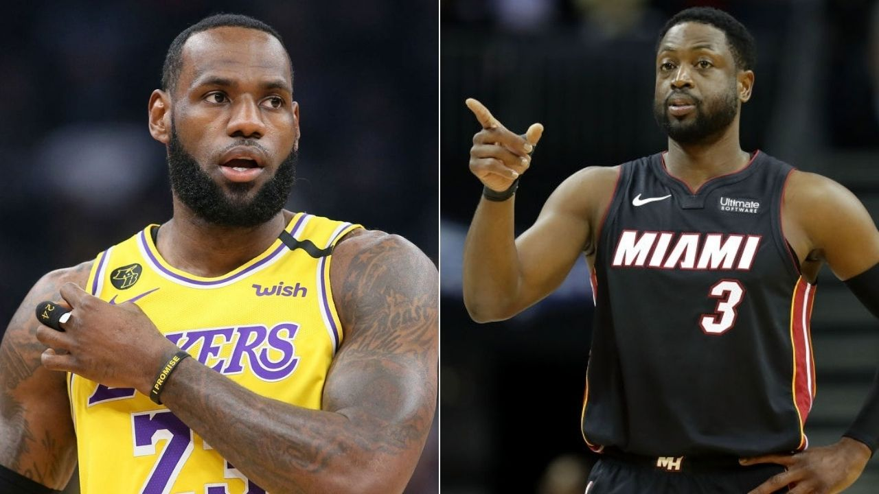 Is Anthony Davis your best teammate ever: LeBron James responds to Dwyane Wade
