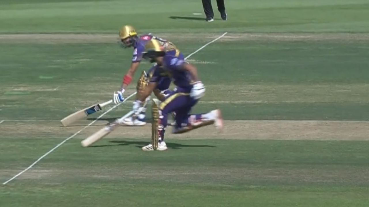 Nitish Rana run-out vs KXIP: Watch Rana and Shubman Gill involved in massive mix-up in IPL 2020