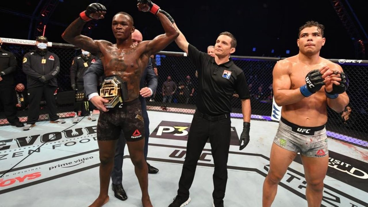 Watch The Deleted Clip: Paulo Costs Posts Video Claiming Israel Adesanya is Sending Out Friendly Messages; Later Deletes The Post