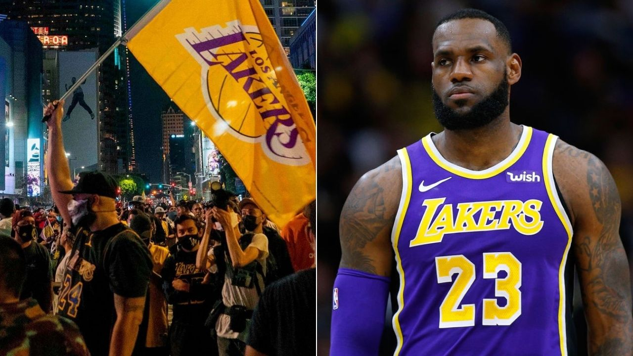 Lakers' title celebrations to blame for new COVID-19 spike