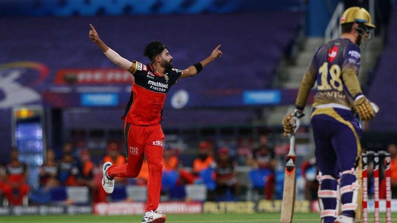 'Jasprit Siraj': Twitter reactions on RCB's Mohammed Siraj dismissing three KKR batsmen without conceding a run