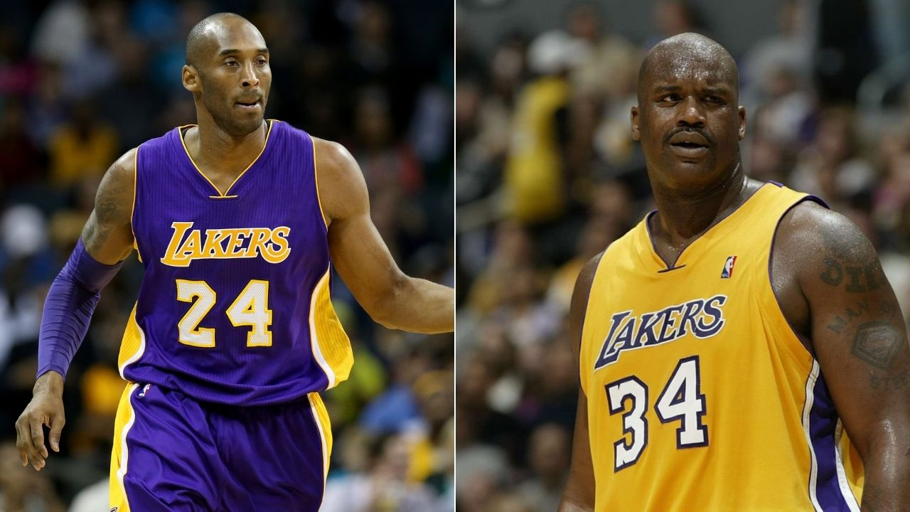 This is my motherf***ing team, you're nothing': Lakers' Kobe Bryant mocked Shaquille O'Neal