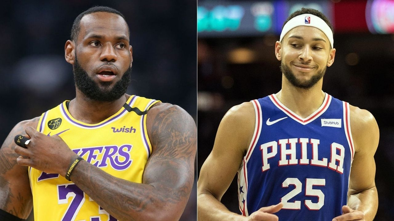 Ben Simmons can be LeBron James 2.0.