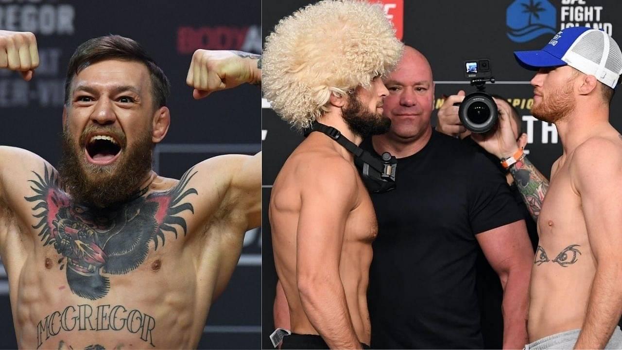 UFC 254: Conor McGregor Breakdowns Khabib Nurmagomedov Vs. Justin Gaethje