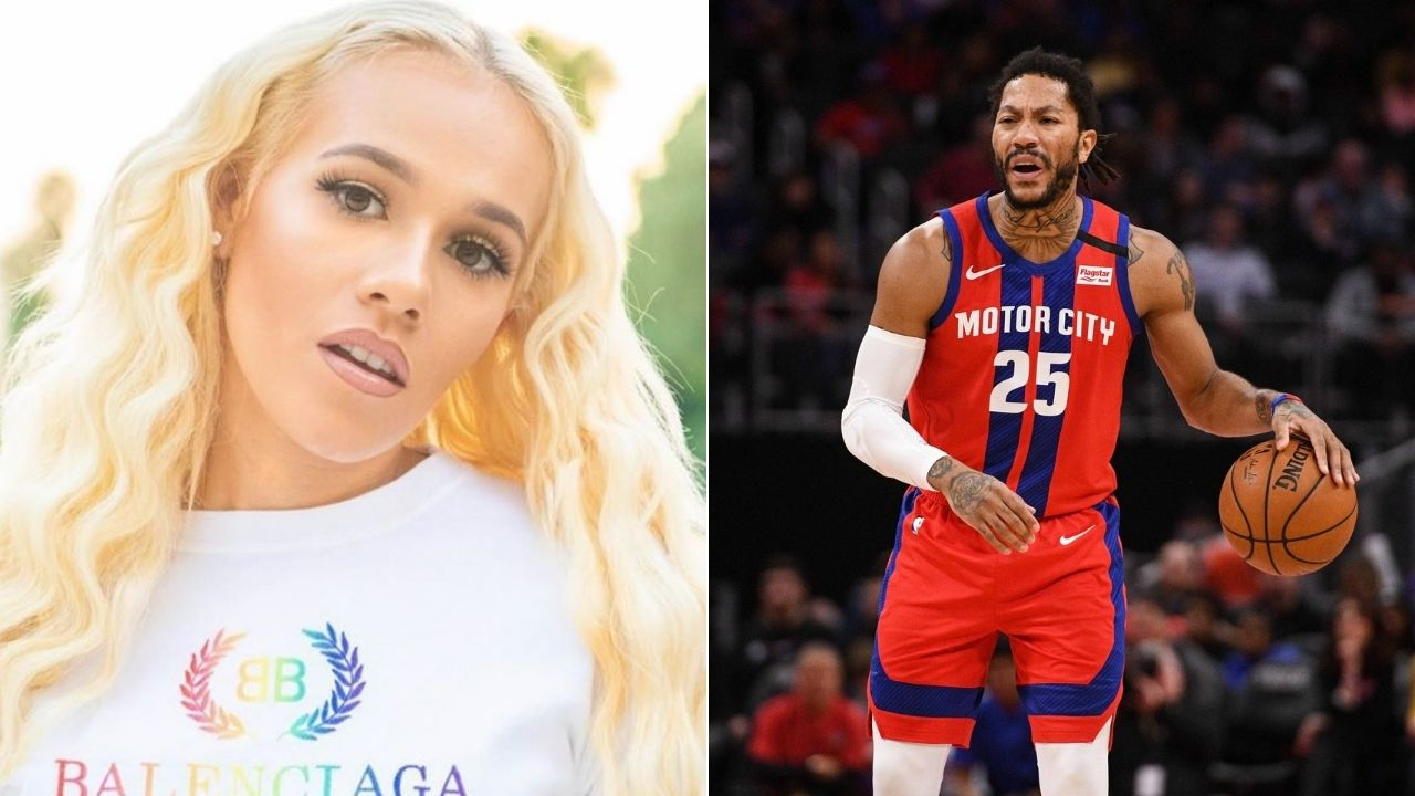 Pistons star's wife reacts to trade rumor of Rose joining LeBron James in LA