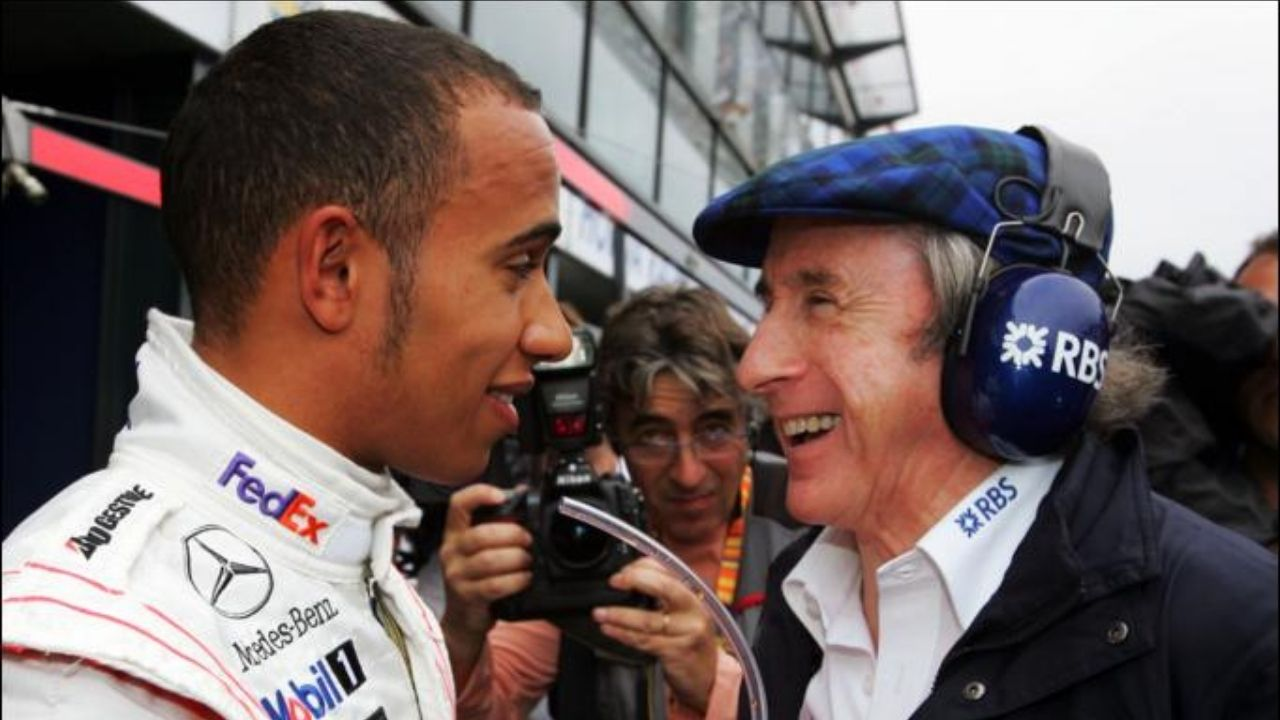 """Lewis is the greatest driver of all time, would be difficult for me""- Jackie Stewart on Lewis Hamilton comparison with other greats"
