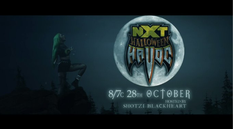 NXT Halloween Havoc announced during TakeOver 31