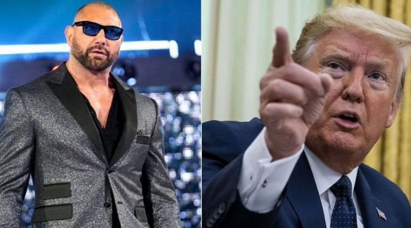 """""""Him being sick does not wipe away all the evil that he has done"""" – Dave Batista on Donald Trump testing positive for Covid-19"""