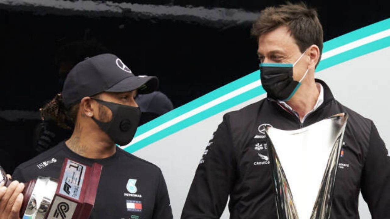 """""""Why they are not driving a Mercedes""""- Toto Wolff attacks the critiques of Lewis Hamilton"""