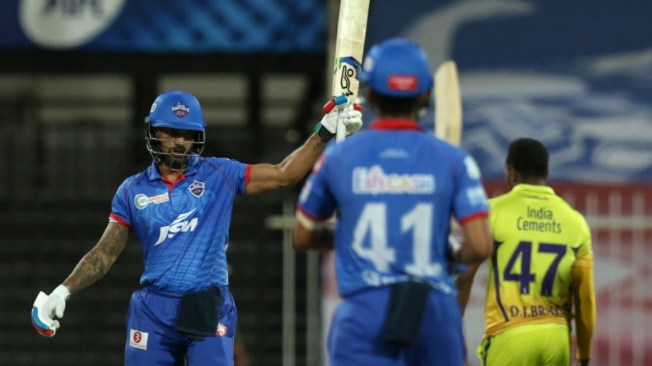 Axar Patel and Shikhar Dhawan IPL century: Twitter reactions on Axar and Dhawan powering Delhi Capitals to win vs CSK