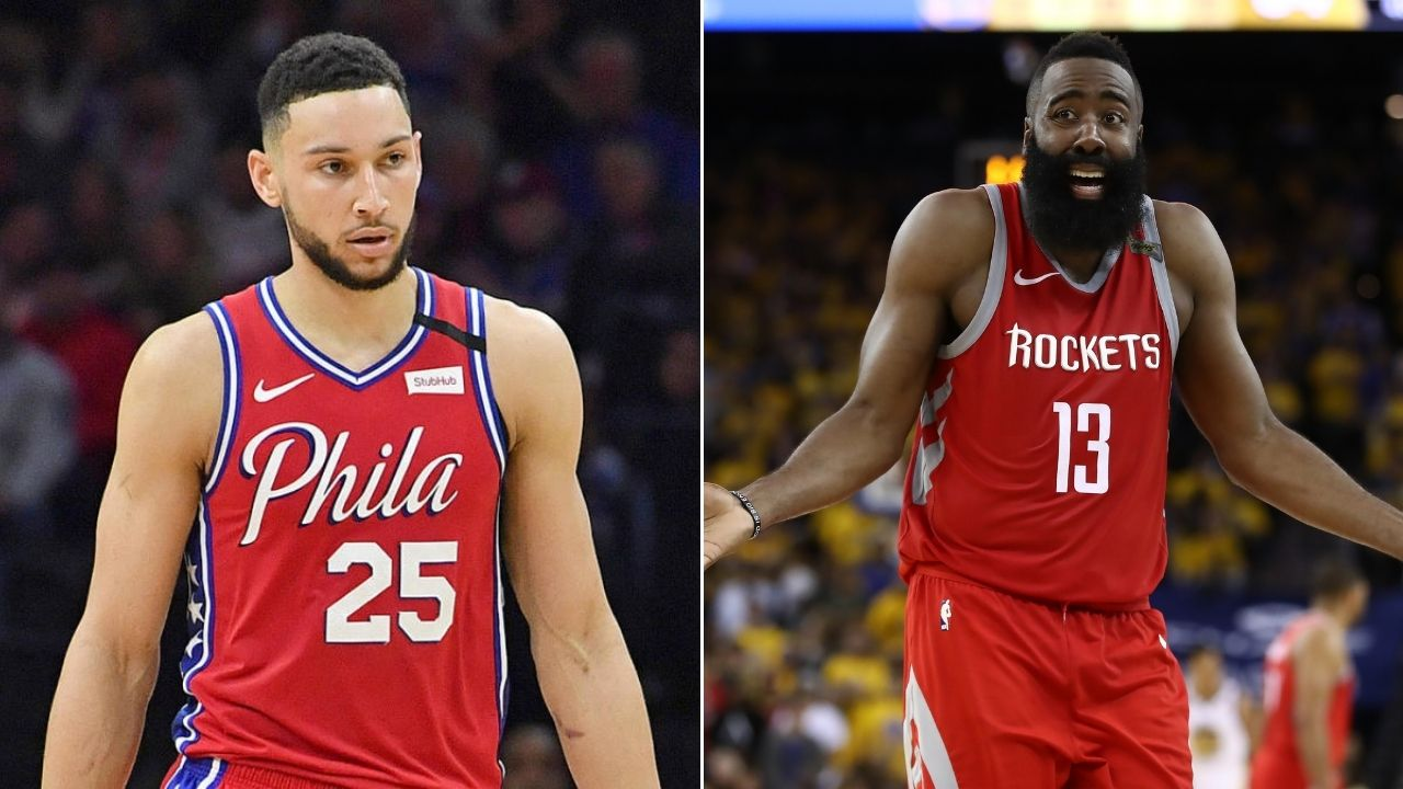 Sixers could get James Harden and trade Ben Simmons': Stephen A Smith